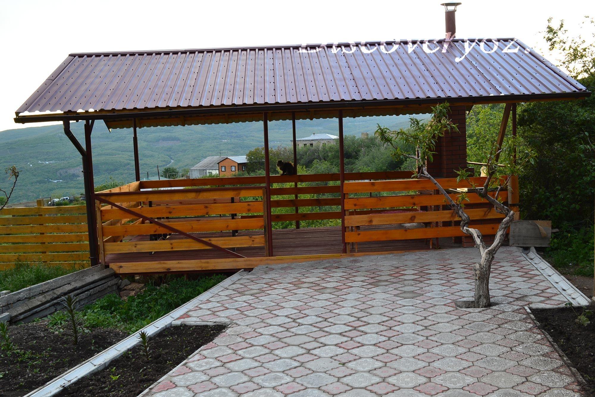 дом в поселке Лучистое