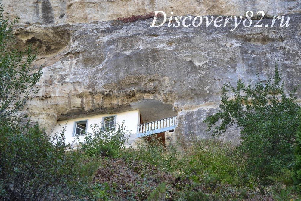 Монастырь в горе Бахчисарай