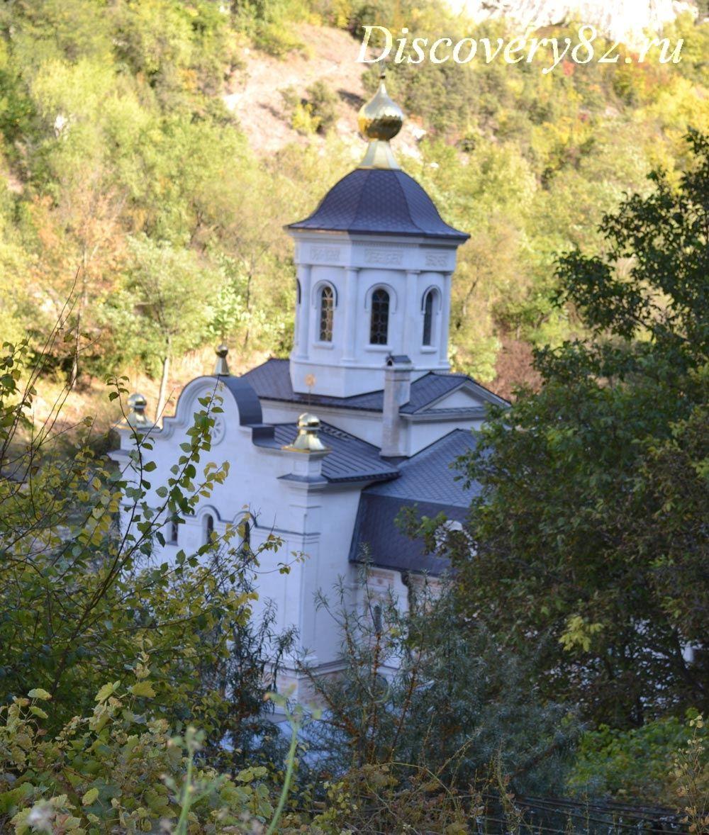 Фото Свято-Успенского монастыря в Бахчисарае