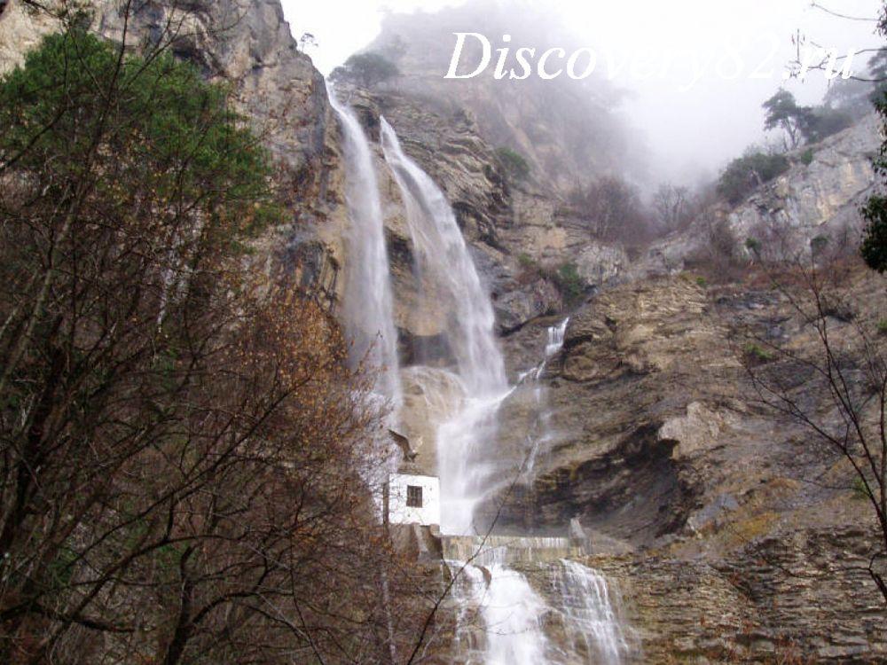 Водопады Крыма фото