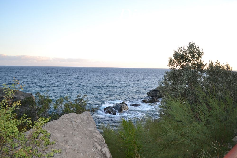 Вид на море со скалы Айвазовского