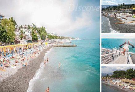 Пляжи Ялты: топ 9 лучших Ялтинских пляжей с описанием