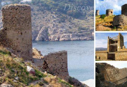 Генуэзская крепость Чембало в Судаке