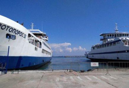 Очередь на паром в Крым: как быстро преодолеть переправу