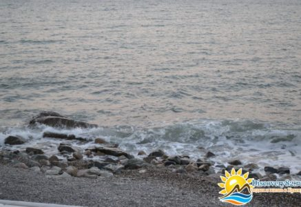 Закат на море фото